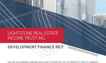 Lightstone Real Estate Income Trust Brochure