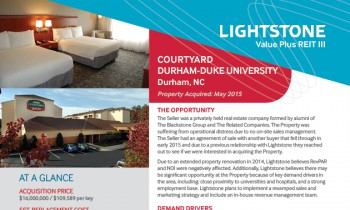Courtyard by Marriott, Durham Property Fact Sheet