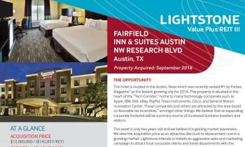 Fairfield Inn & Suites Austin NW Research Blvd – Austin, TX Property Summary